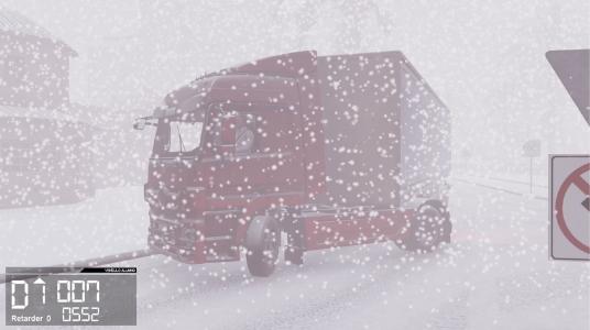 simulador de camión