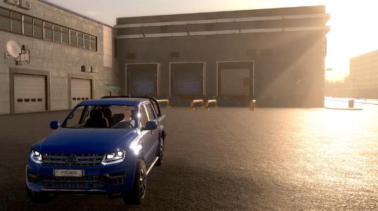simulador de automóvil