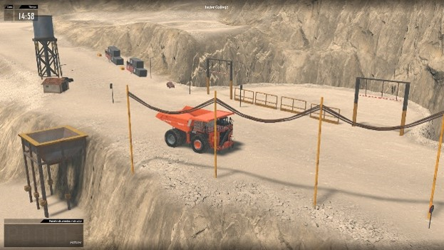 Manejo y seguridad de maquinaria minera