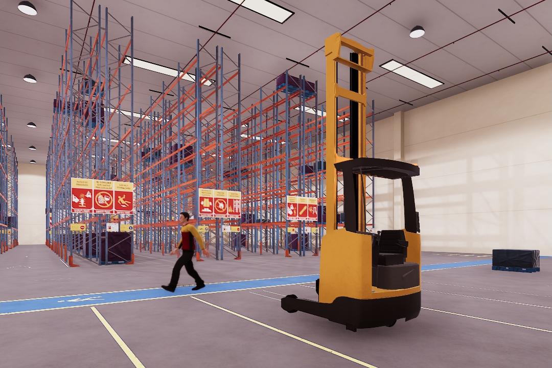 Seguridad y productividad en logística