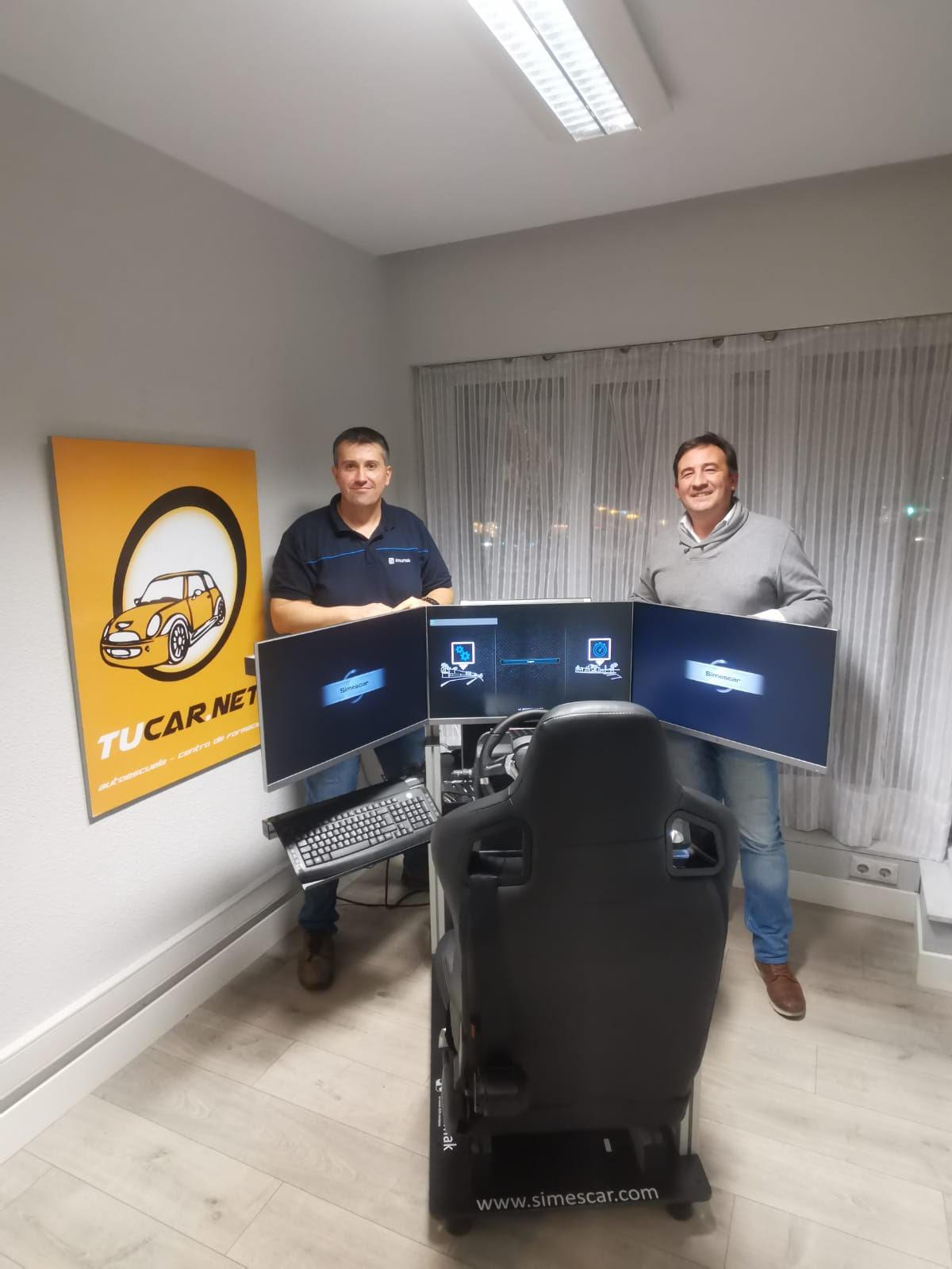 Primera instalación del simulador Simescar PPU en Irún