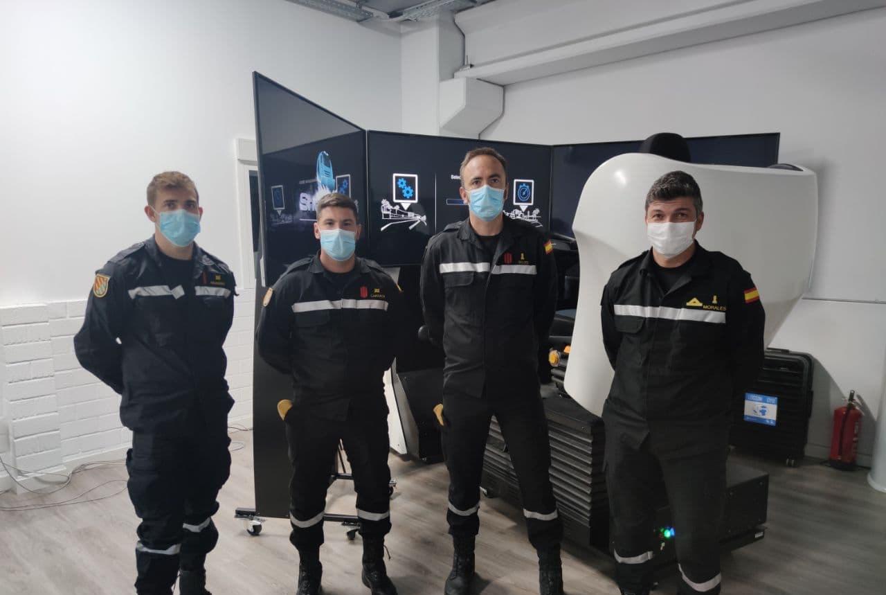Entrenamiento UME con simuladores Simumak