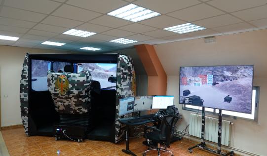 Simulador de conducción para defensa