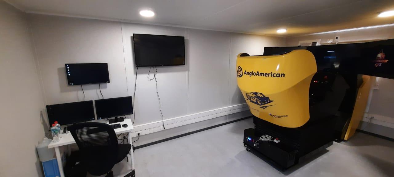 Simulador de todoterreno SIESCAR 4X4