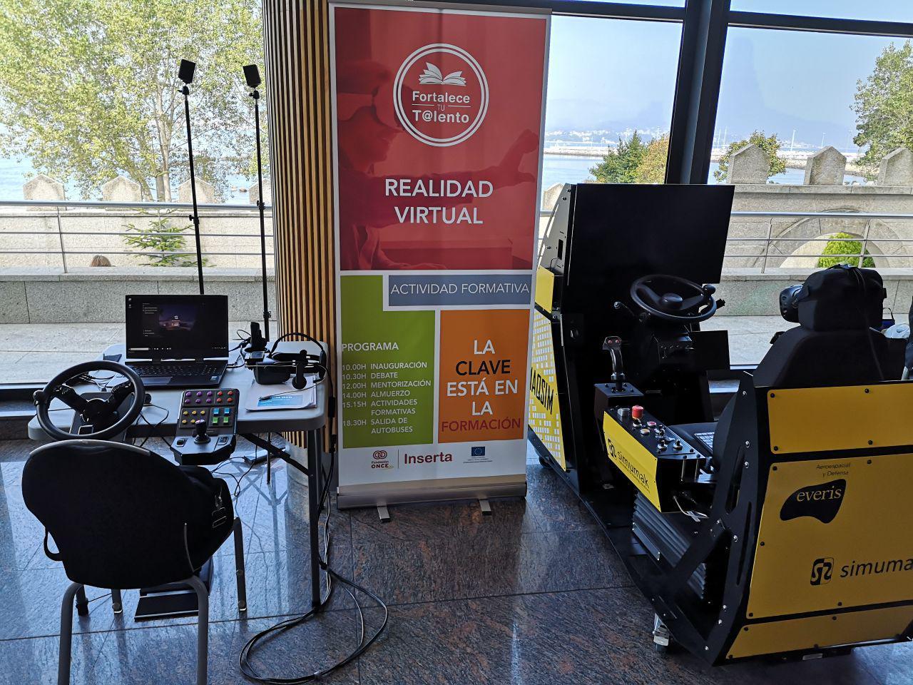 Simuladores para personas con discapacidad