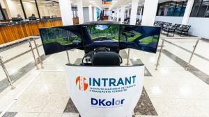 simulador de camión para certificación en INTRANT republica dominicana