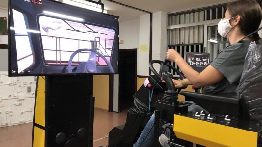 Formación Profesional mediante tecnologías de simulación