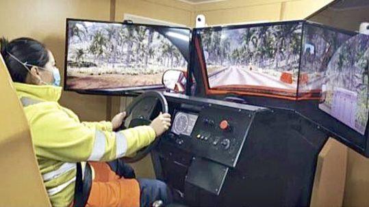 Capacitación minera con simuladores Simumak