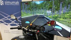 Simulador de moto Simesbike