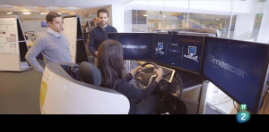 simescar en el MIT para el estudio de las emociones al conducir