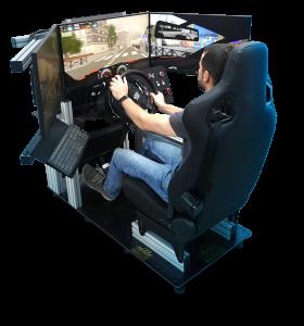 simulador de coche simumak para investigación científica