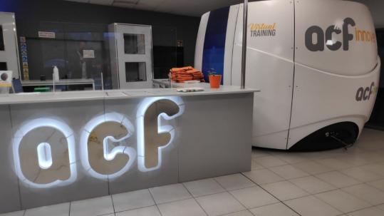ACF Innove incorpora un simulador para formación y capacitación de conductores