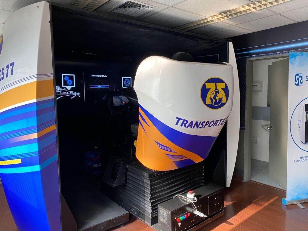 Transportes 77 adquieres simulador de camión