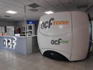 ACF Innove incorpora un simulador para formación
