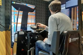 Simulador de carretilla elevadora