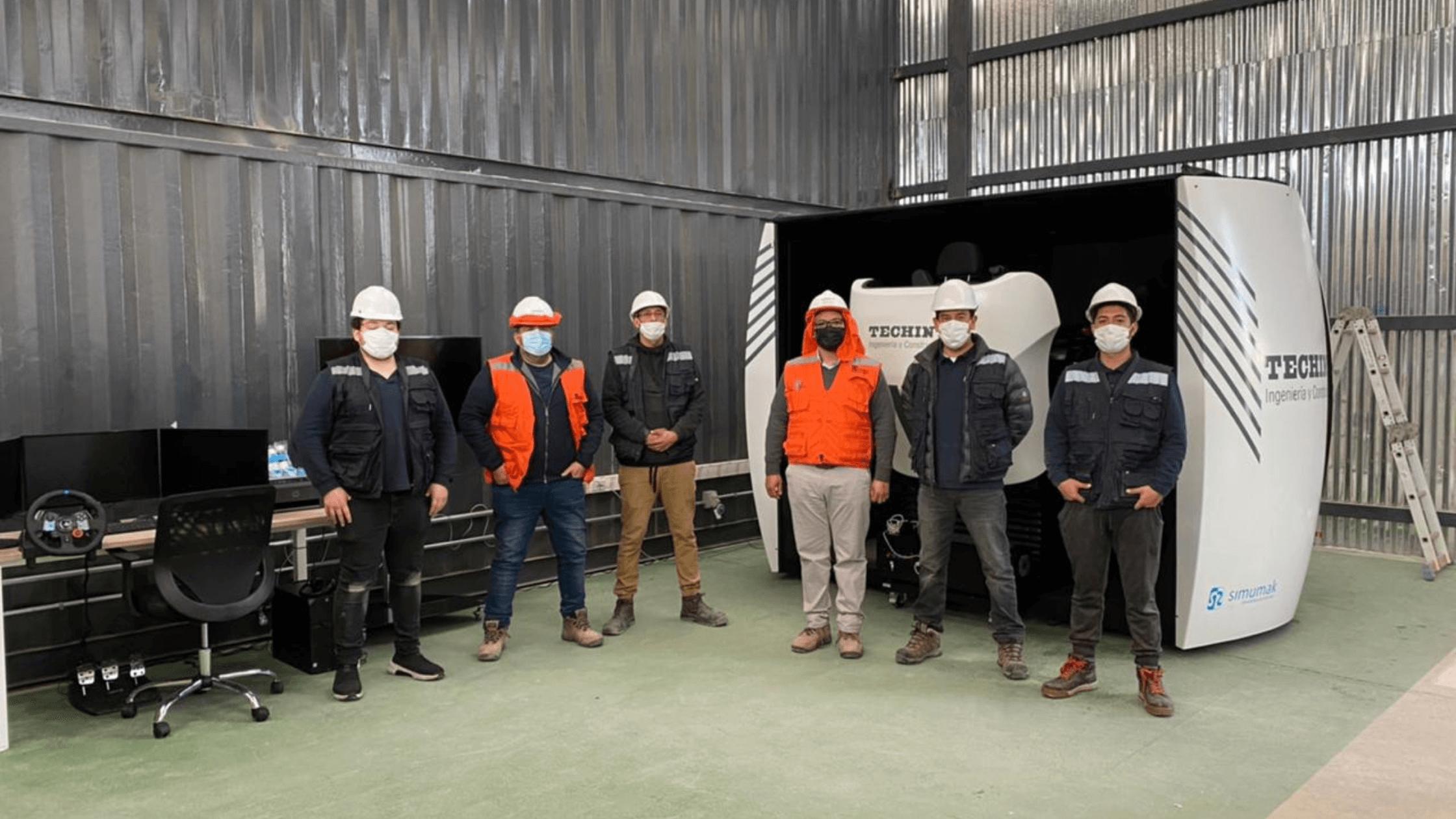 Simulador Simestruck en Techint Ingeniería y Construcción