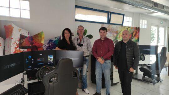Simulador para autoescuela Simescar lite en Francia